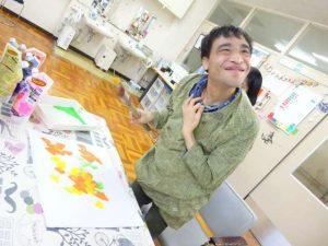 彰宏さんの絵日記No.14 凧を作りました