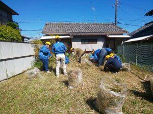 【就労移行】草刈り