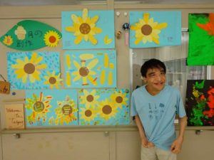彰宏さんの絵日記No.18 夏の創作を紹介します!