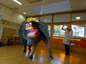 獅子舞登場!