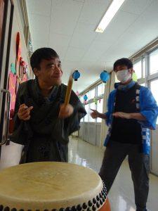 彰宏さんの絵日記No.23 盆踊りをしました!